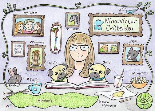 Nina Victor Crittenden - Book and Creative Illustrator