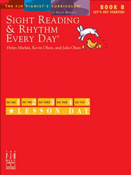 Sight Reading & Rhythm Every Day, Let's Get Started!, Book B